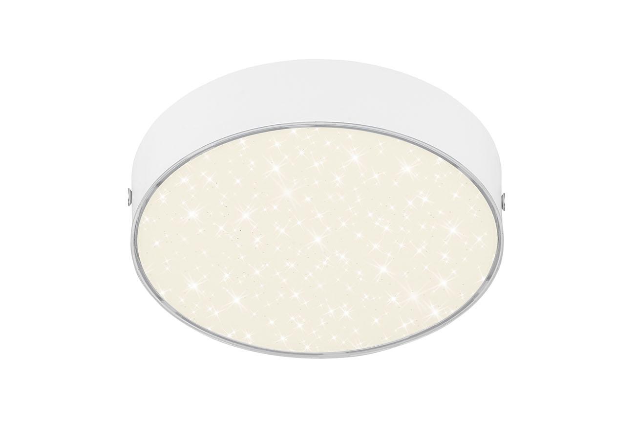STERNENHIMMEL LED Deckenleuchte, Ø 15,7 cm, 11 W, Weiss