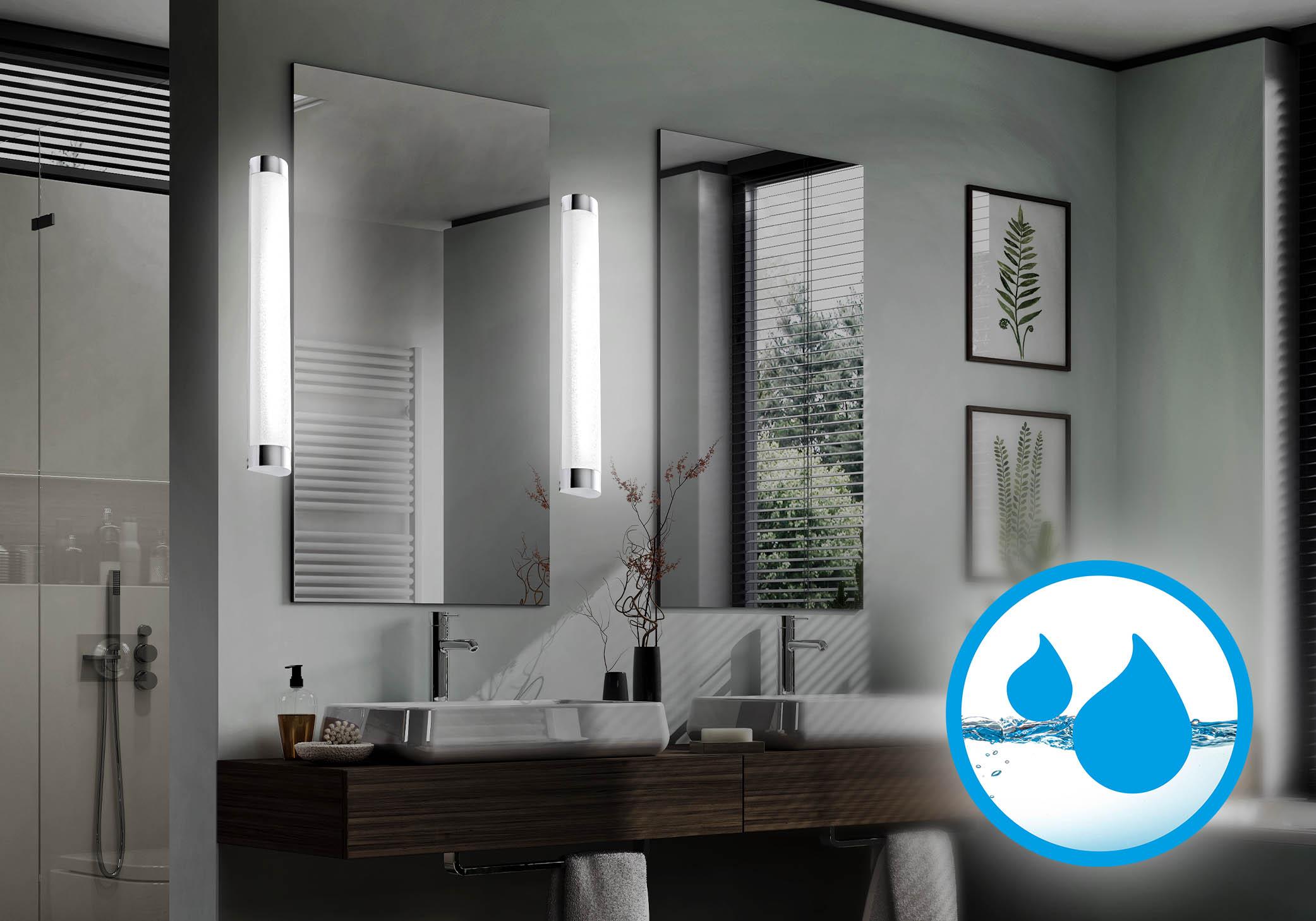 LED Spiegelleuchten im Badezimmer