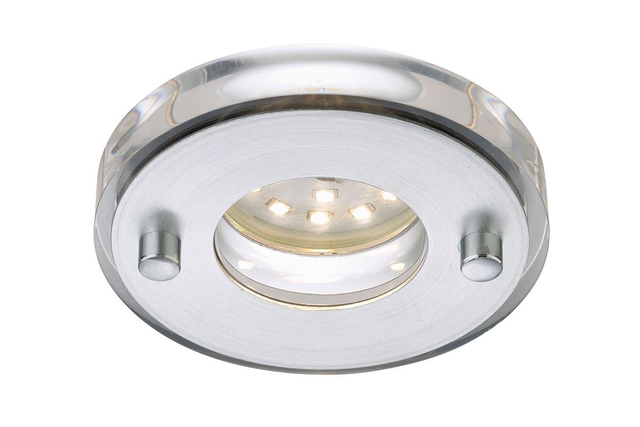 LED Einbauleuchte, Ø 8,5 cm, 5 W, Alu