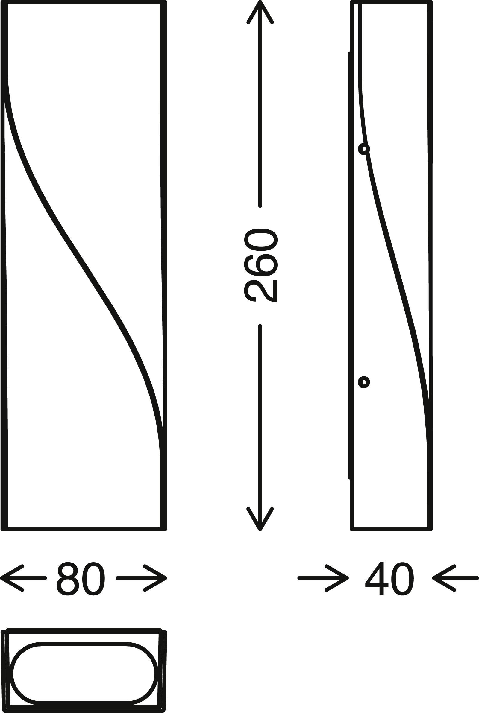 TELEFUNKEN LED Außenwandleuchte, 26 cm, 12 W, Schwarz