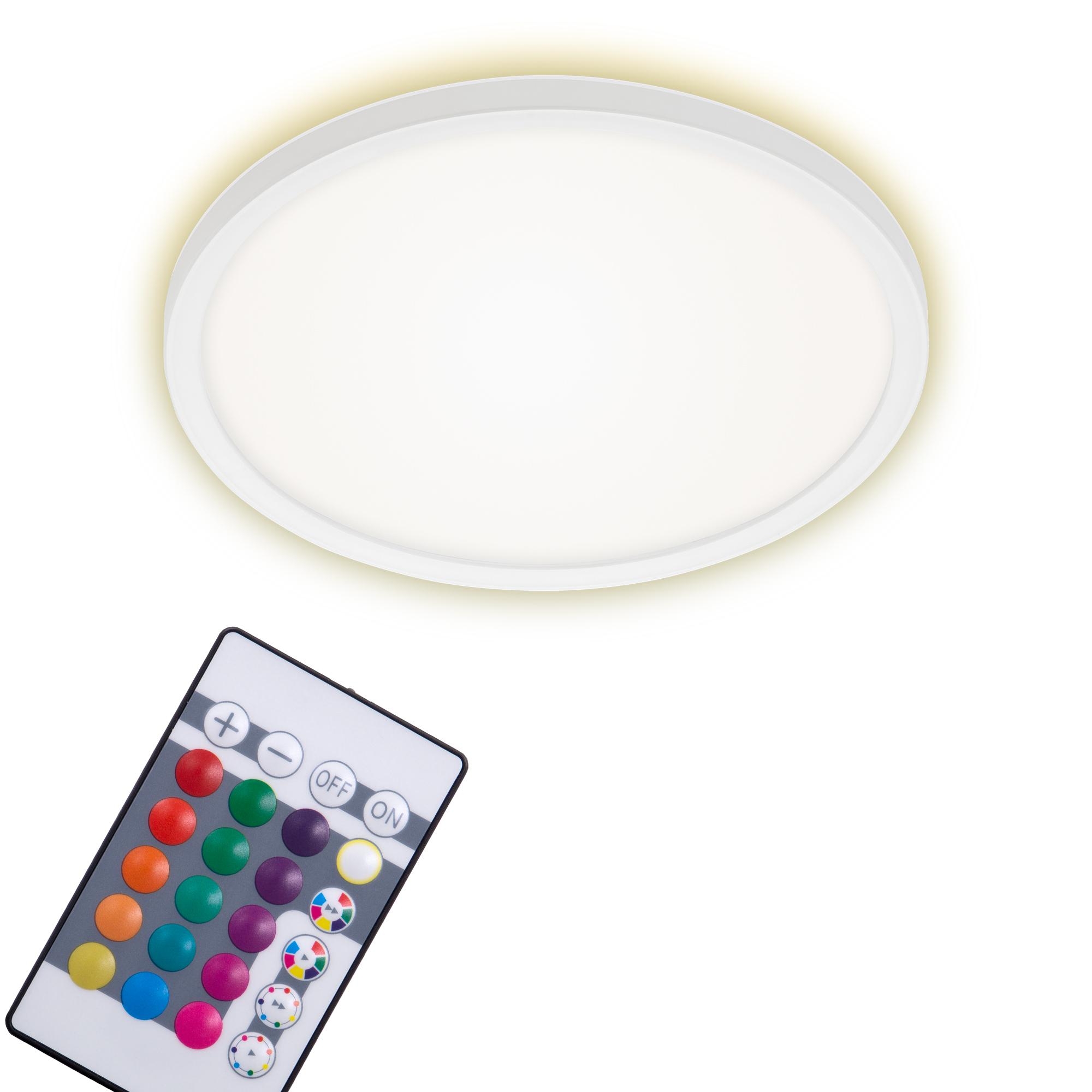 SLIM LED Panel, Ø 29,3 cm, 1850 LUMEN, 15 WATT, Weiß