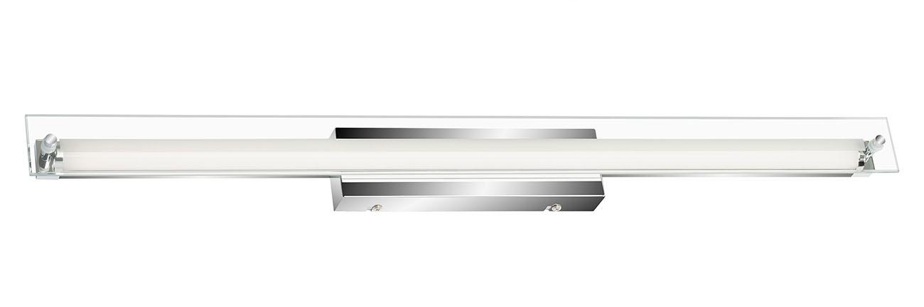 LED Wand- und Spiegelleuchte, 65 cm, 8 W, Chrom