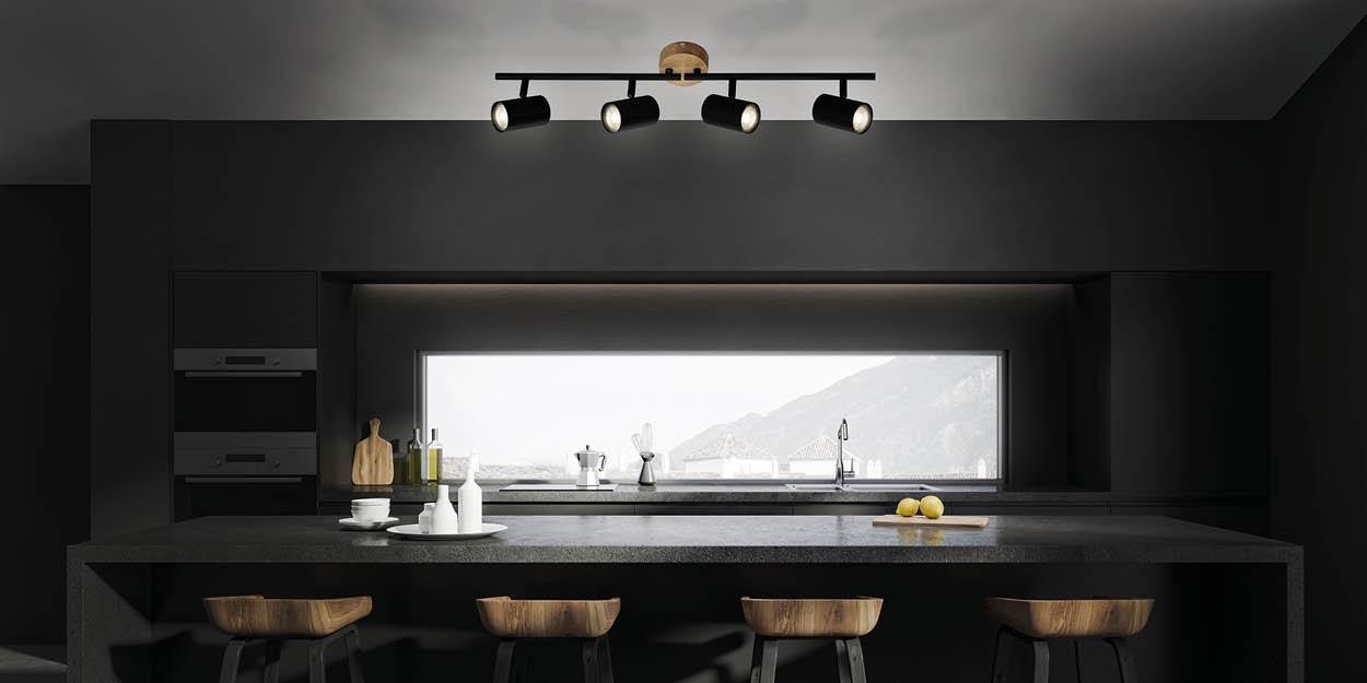 Wood and Style Leuchten von Briloner Konzepte Banner