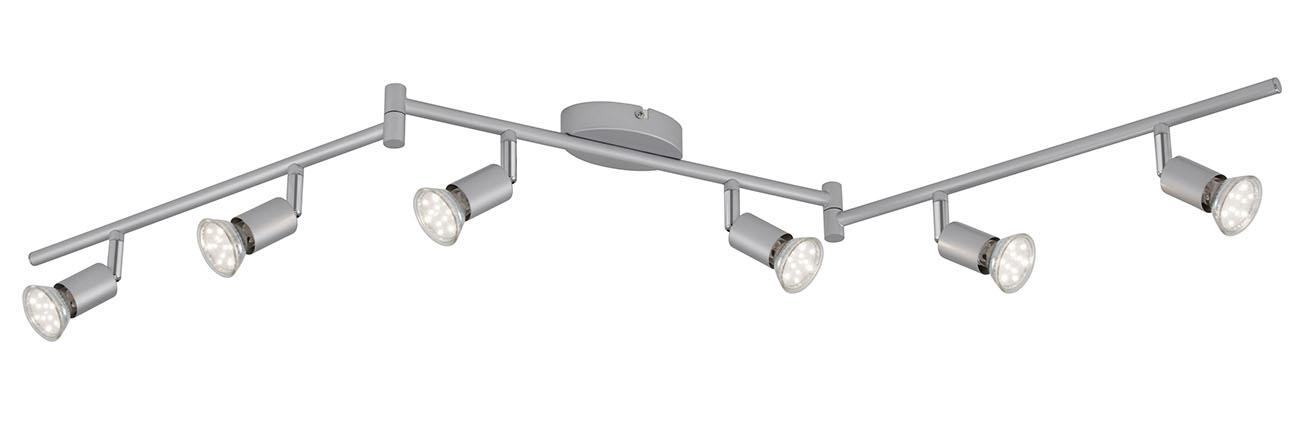 LED Spot Deckenleuchte, 120,4 cm, 18 W, Titan