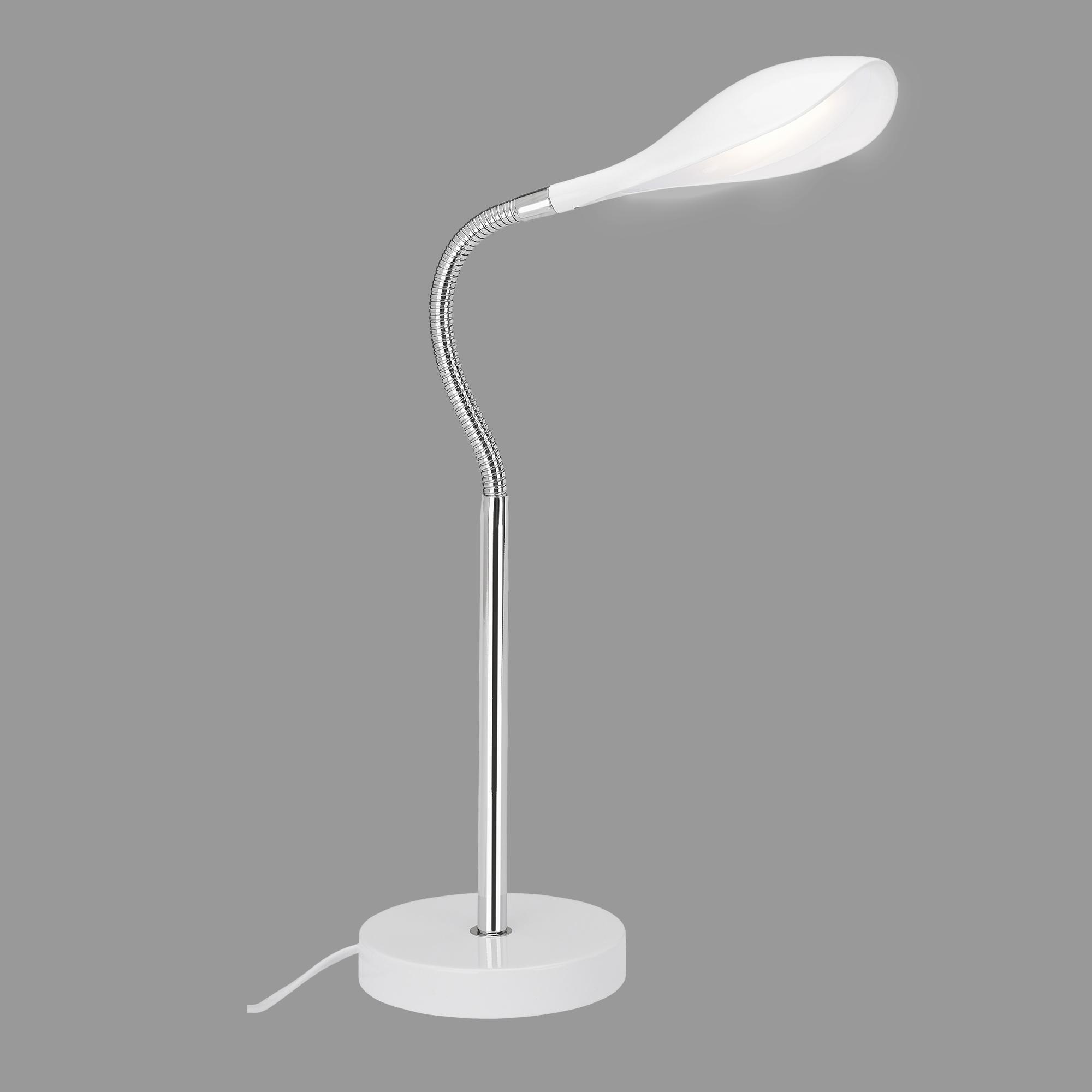 LED Tischleuchte, 40 cm, 4,5 W, Weiss