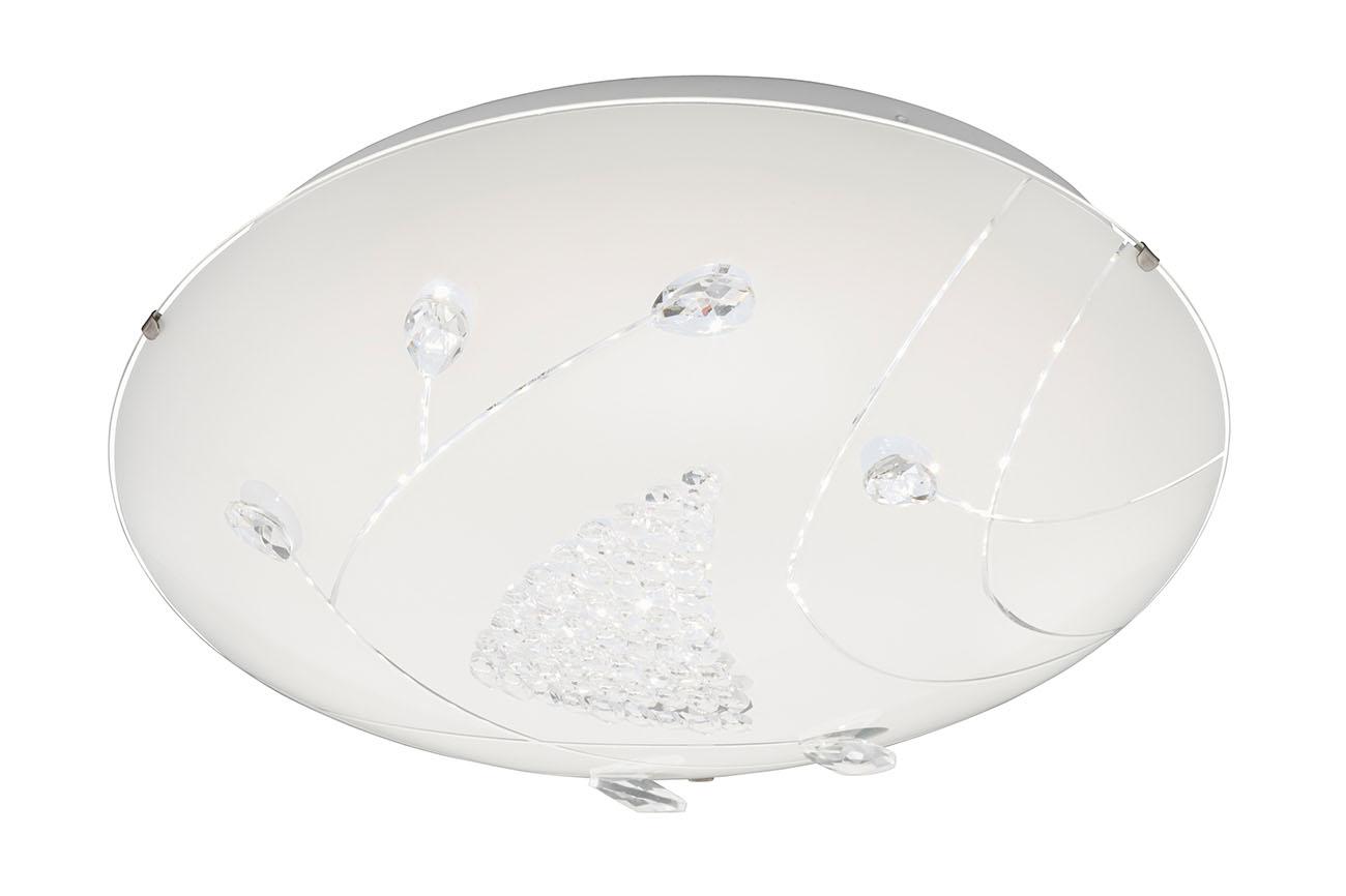 LED Deckenleuchte, Ø 40 cm, 22 W, Weiss