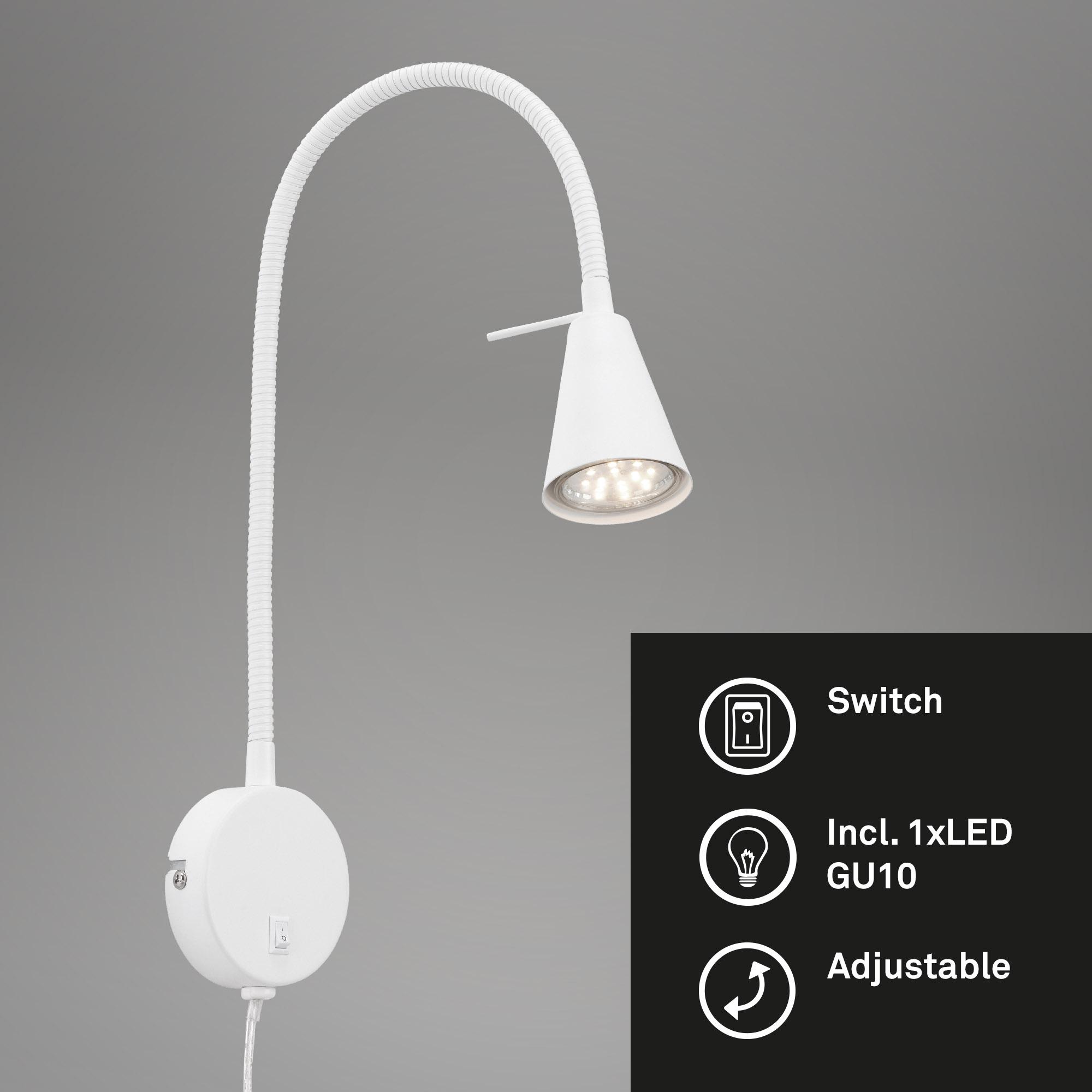 LED Wandleuchte Weiß