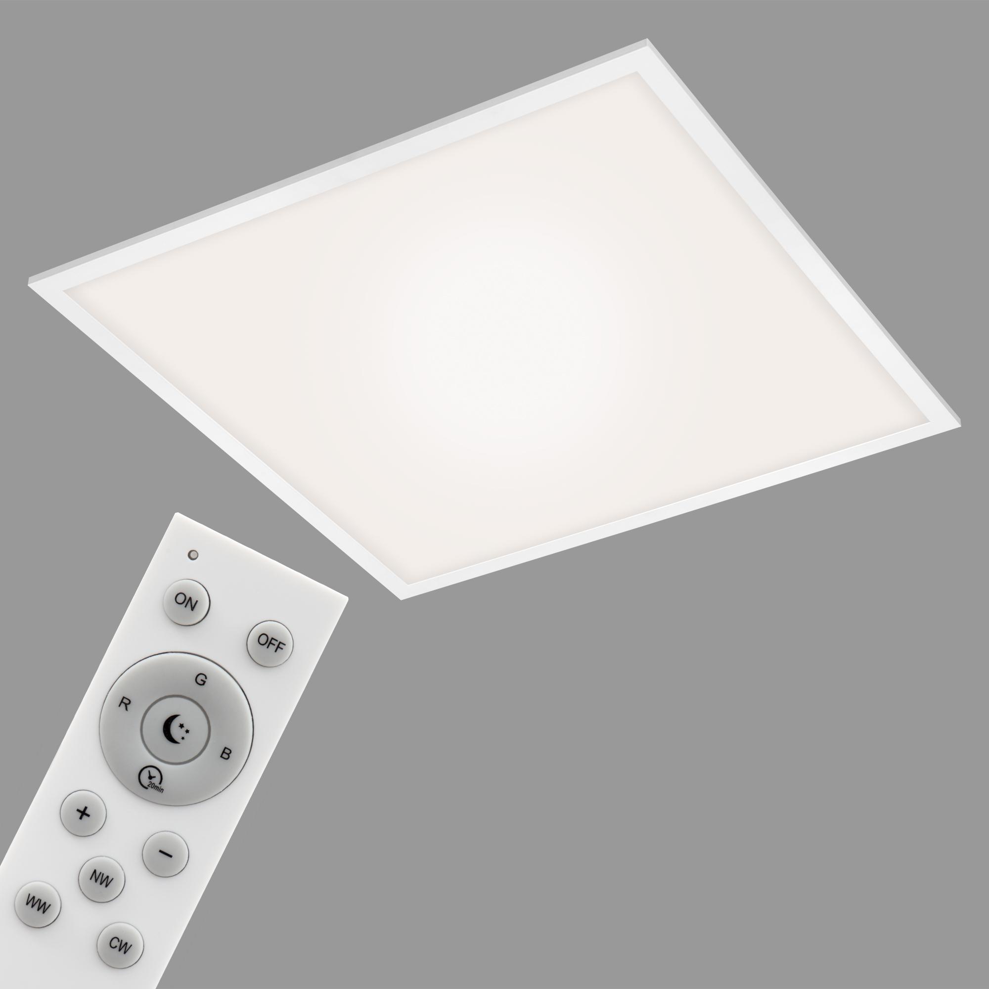 Smart CCT/RGB Panel, 59,5 cm 40 W, Weiss