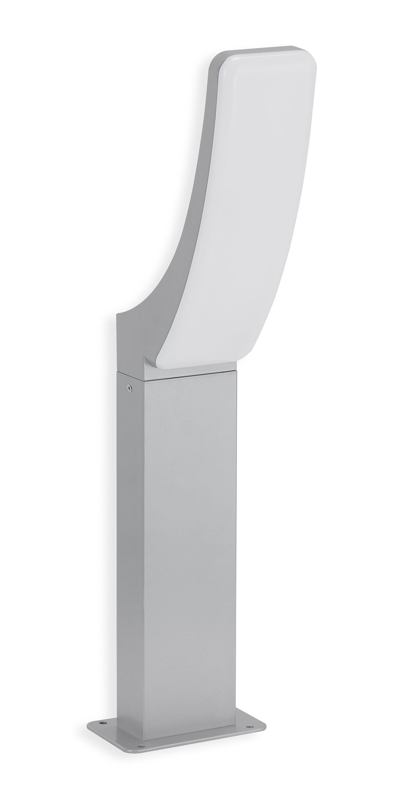 TELEFUNKEN LED Aussenstehleuchte, 57 cm, 15 W, Silber