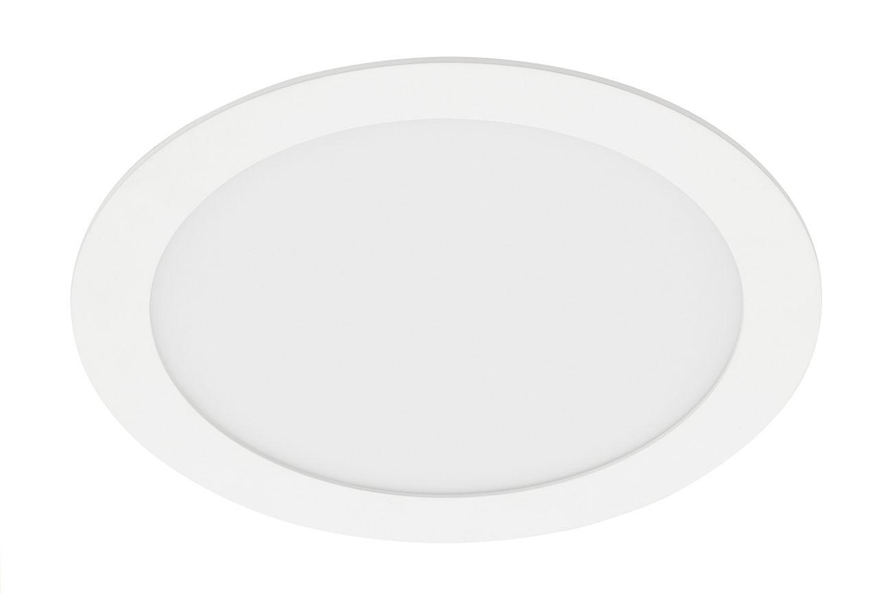 TELEFUNKEN Smart LED Einbauleuchte, Ø 22,5 cm, 18 W, Weiß