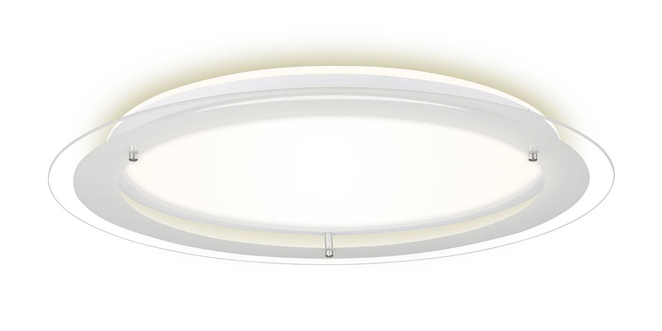 LED Deckenleuchte, Ø 52 cm, 22 W, Weiß