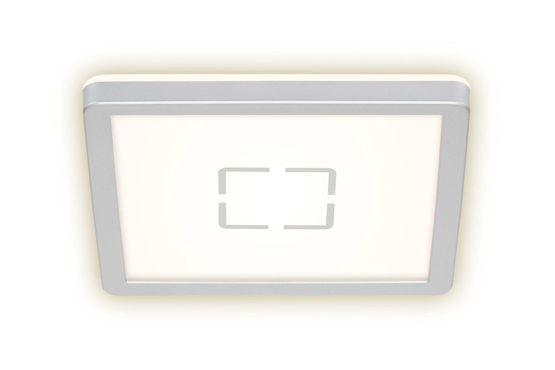 Slim LED Panel, 19 cm, 1400 LUMEN, 12 WATT, Silber