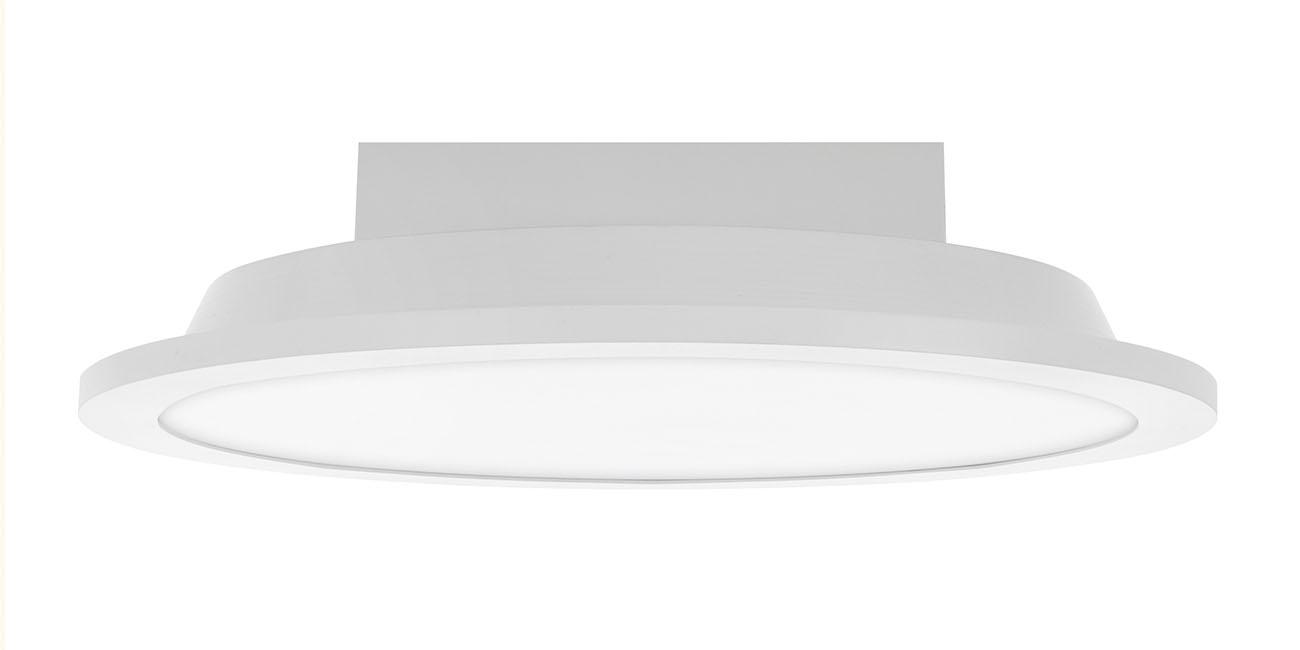 TELEFUNKEN Smart LED Panel, Ø 29,6 cm, 18 W, Weiß