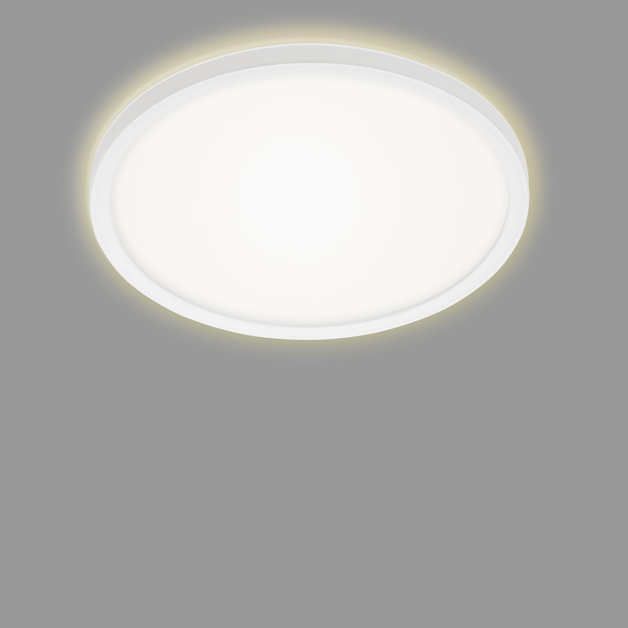 SLIM LED Panel, Ø 29,3 cm, 1850 LUMEN, 15 WATT, Weiss