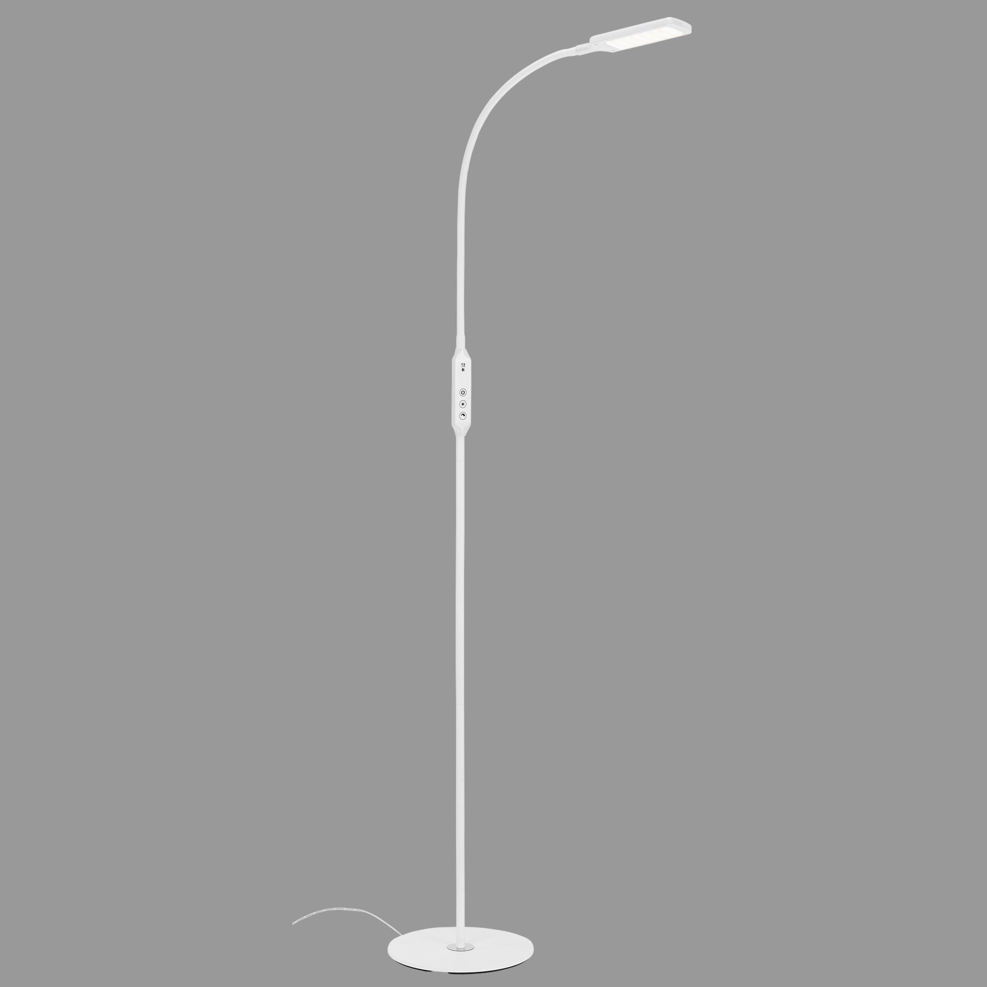 CCT LED Stehleuchte, 140 cm, 8 W, Weiss