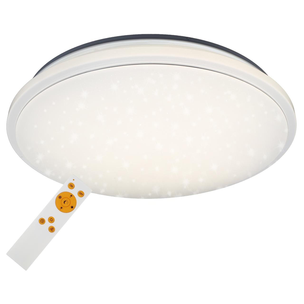 STERNENHIMMEL LED Deckenleuchte, Ø 56,5 cm, 48 W, Weiss
