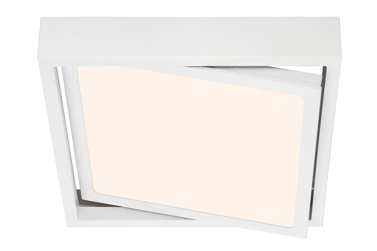 LED Deckenleuchte, 22,5 cm, 16,5 W, Weiß
