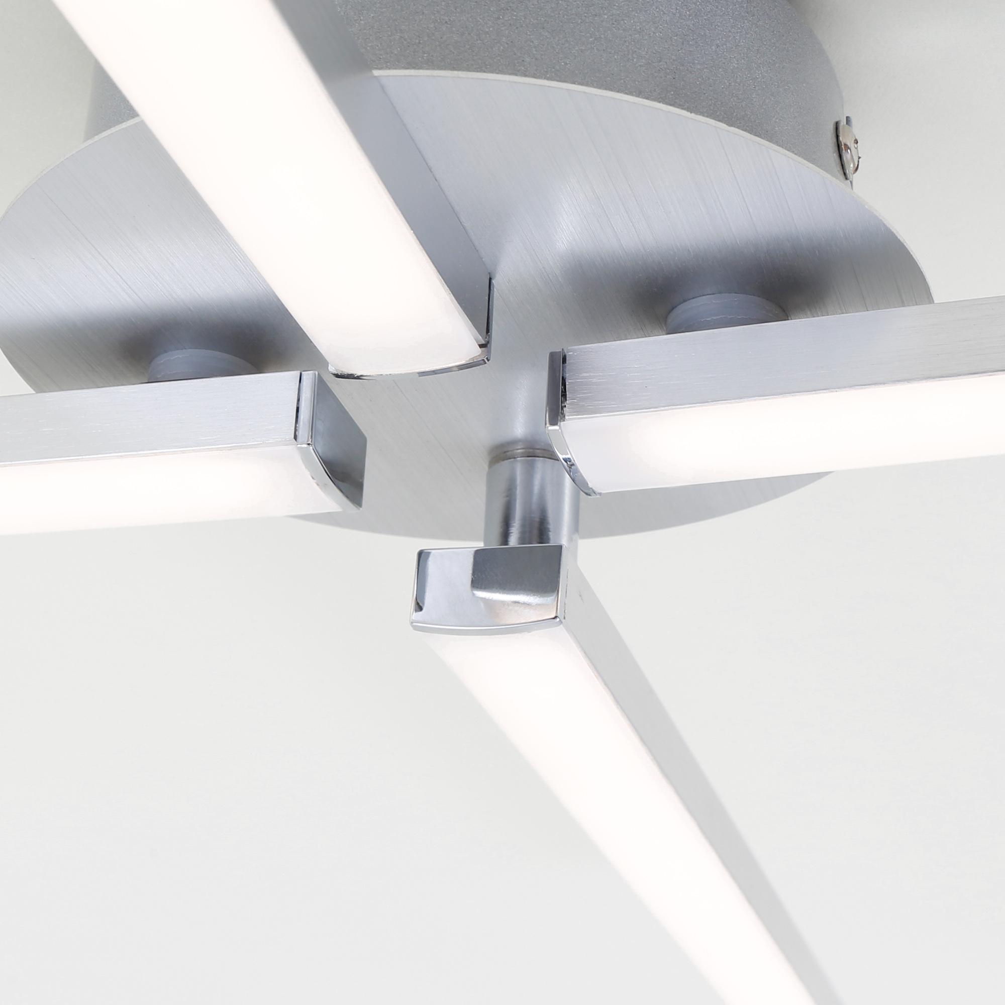 LED Deckenleuchte Alu