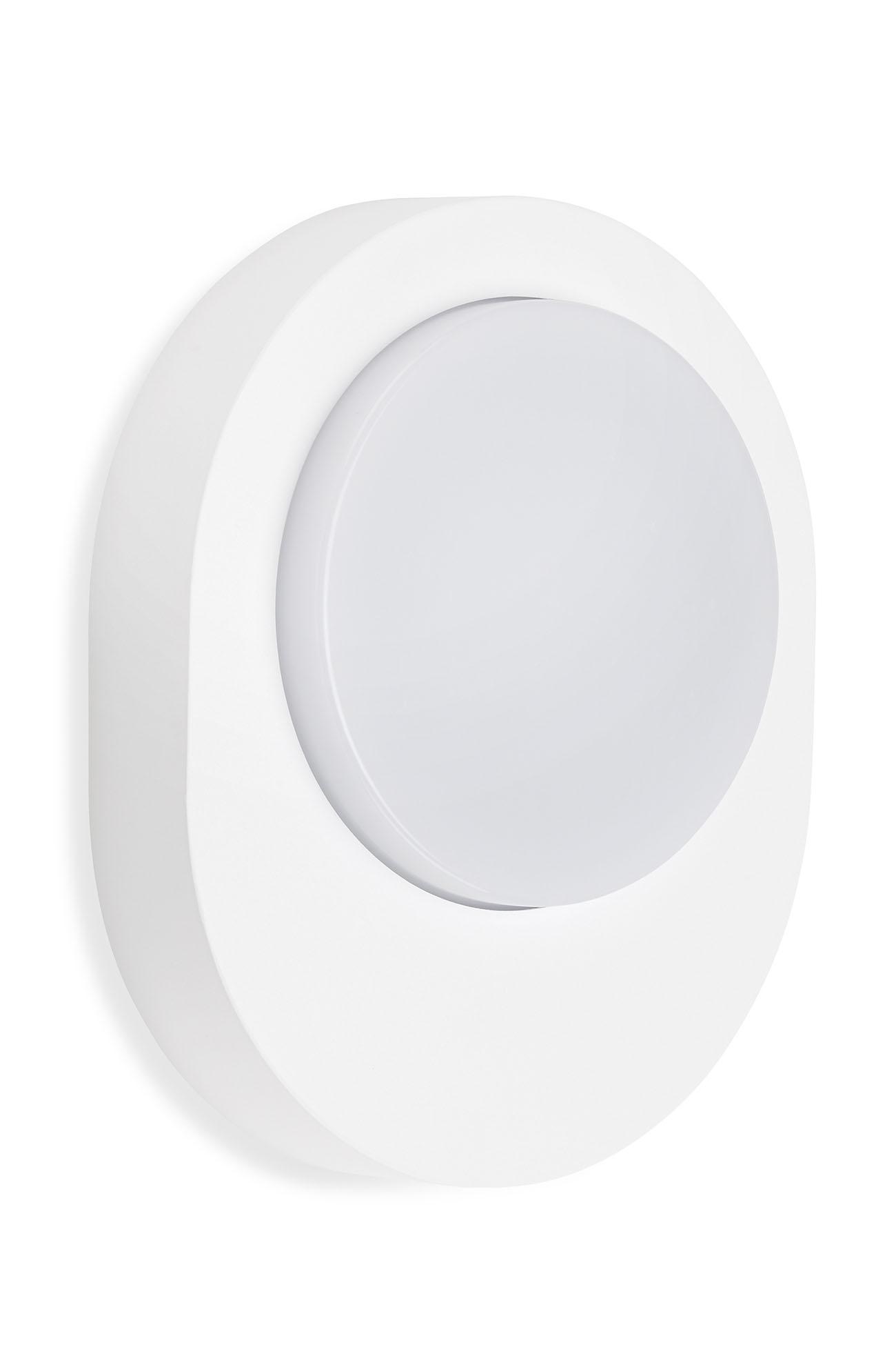 TELEFUNKEN LED Aussenwandleuchte, 20 cm, 8 W, Weiss