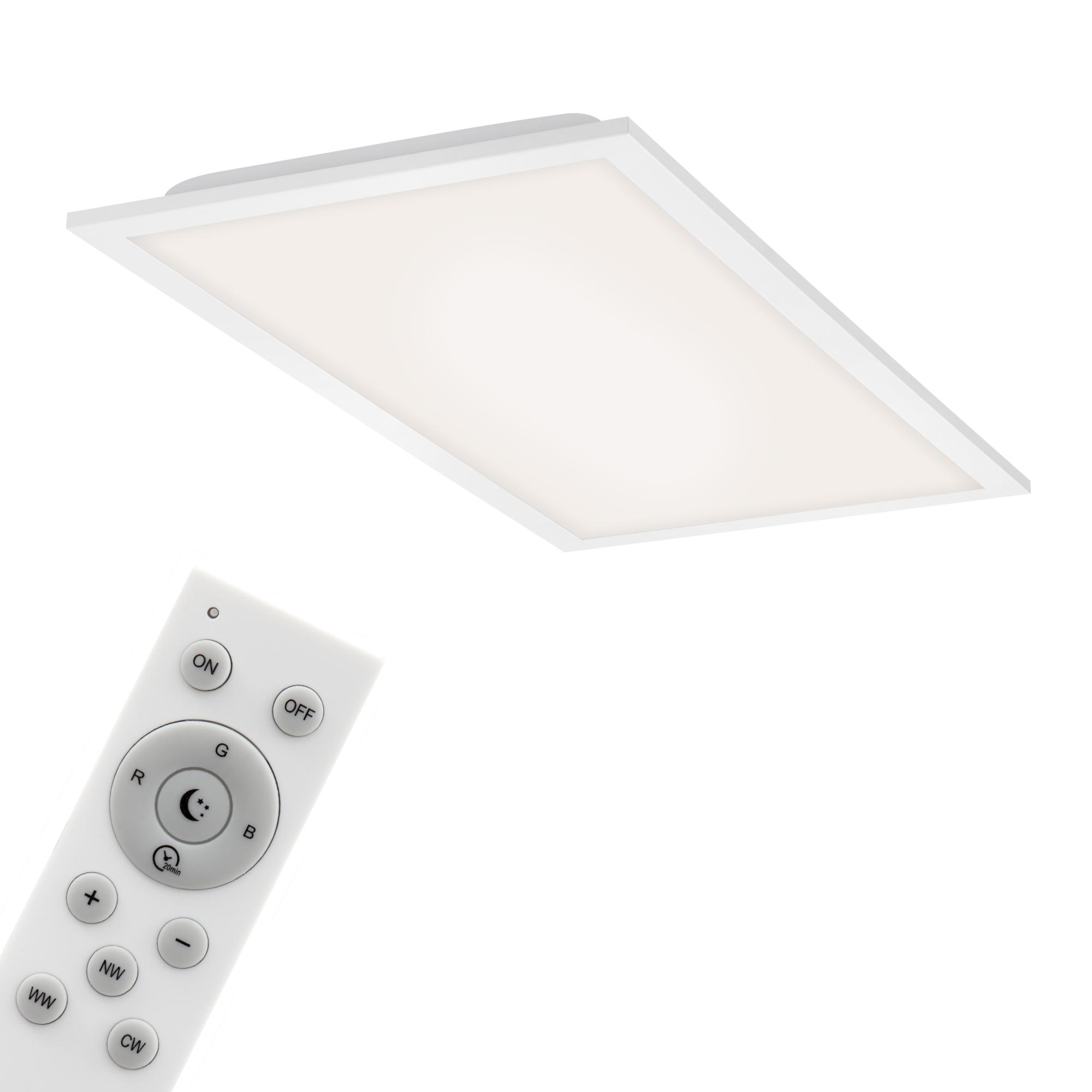 Smart CCT/RGB Panel, 59,5 cm 24 W, Weiss