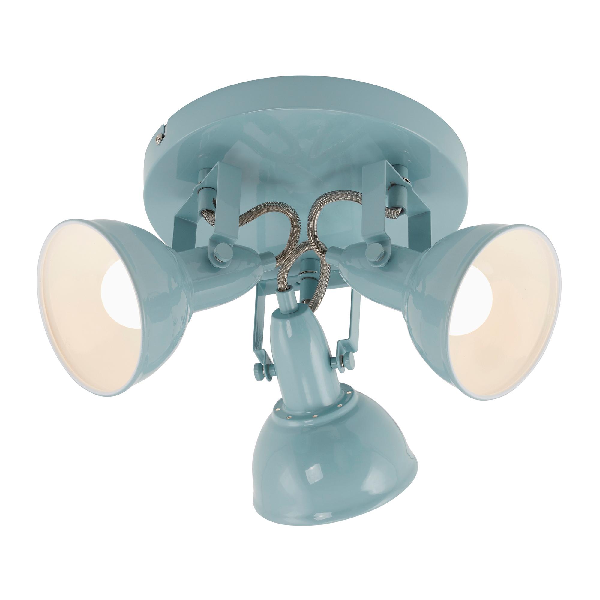 Spot Deckenleuchte, Ø 21 cm, max. 40 W, Mint-Weiss