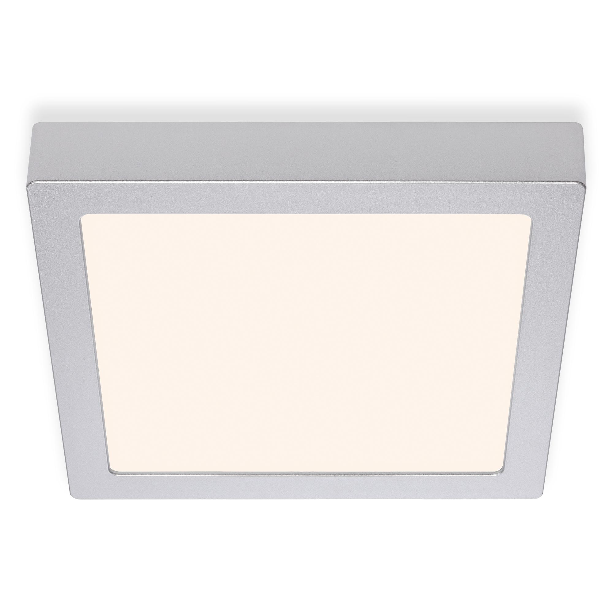 LED Deckenleuchte, 22,5 cm, 16,5 W, Chrom-Matt