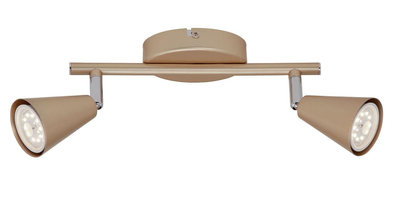 LED Spot Deckenleuchte, 25 cm, 10 W, Gold