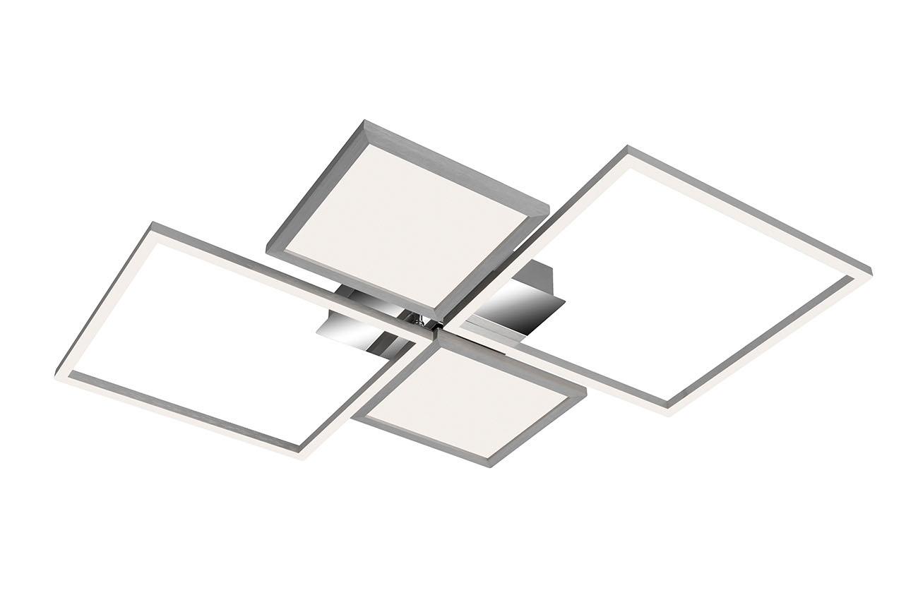 CCT LED Deckenleuchte, 65,2 cm, 40 W, Schwarz