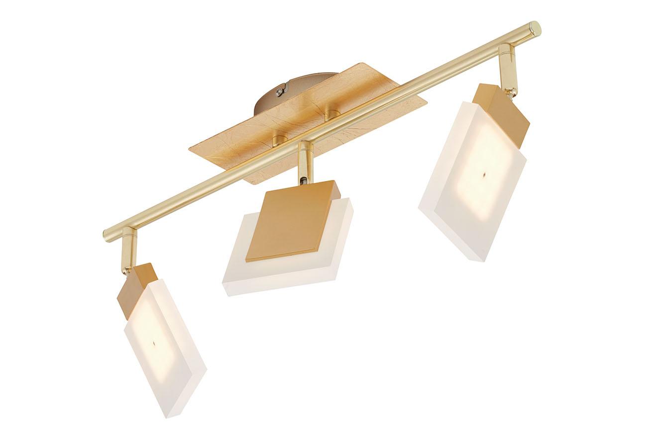 LED Spot Deckenleuchte, 48,5 cm, 13,5 W, Gold