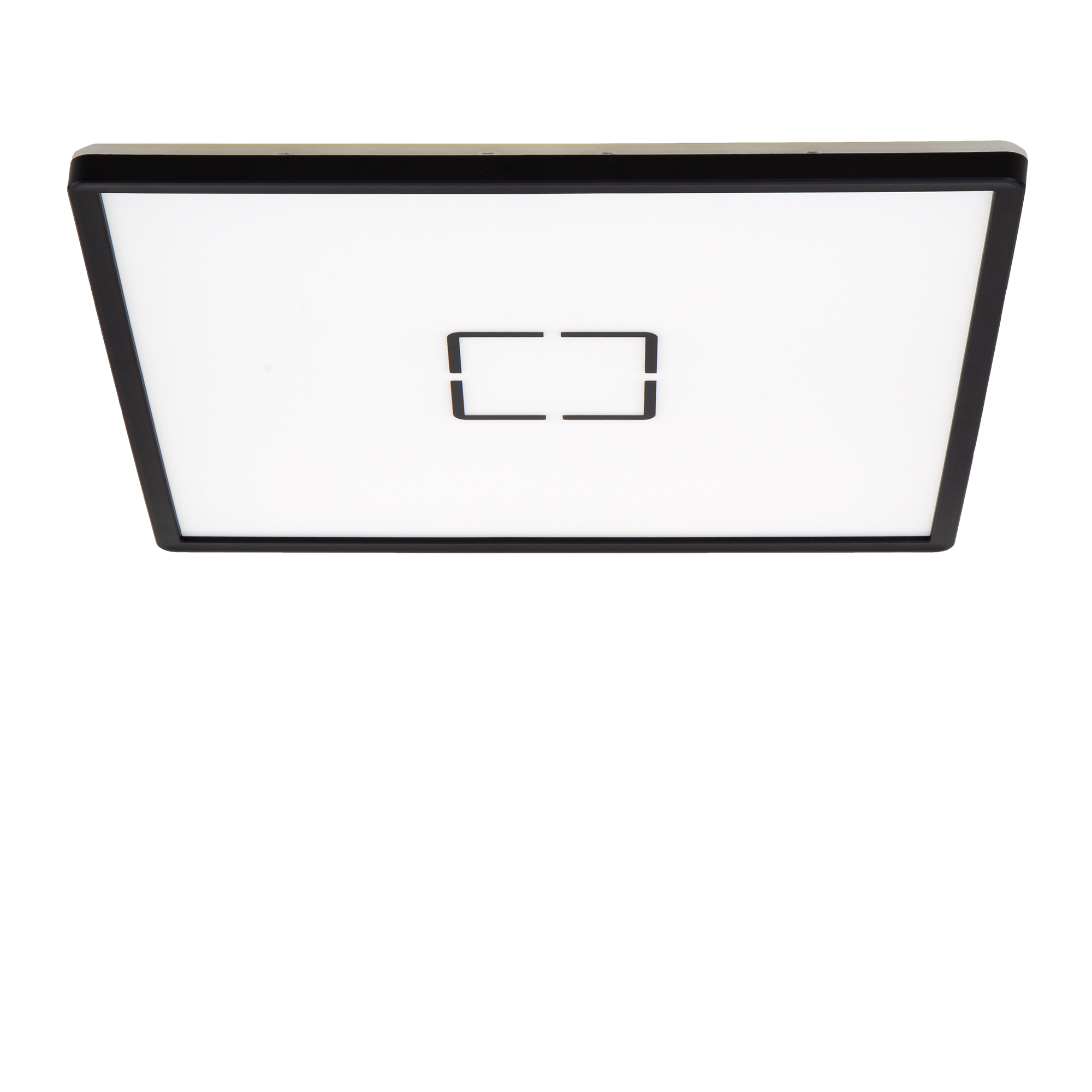 Slim LED Panel, 42 cm, 3000 LUMEN, 22 WATT, Schwarz