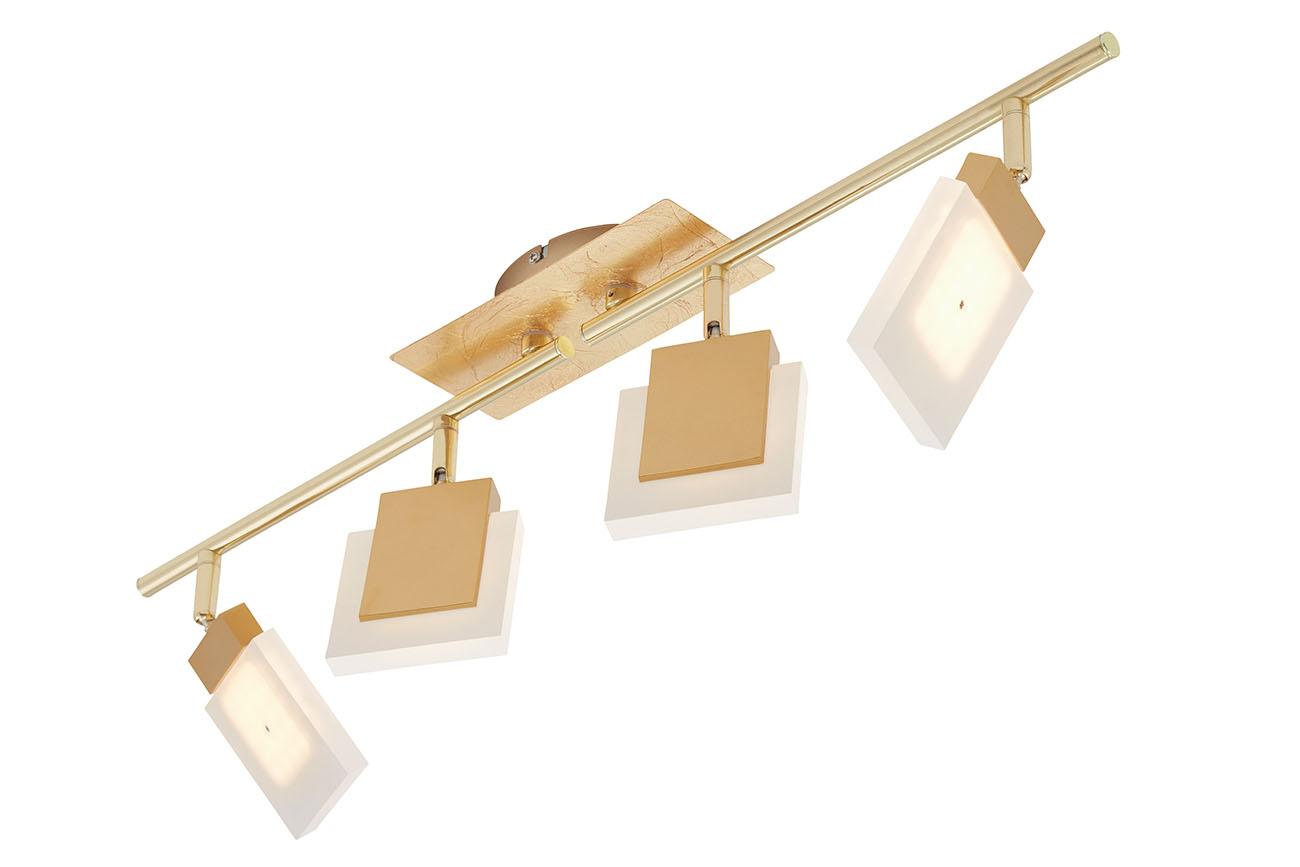 LED Spot Deckenleuchte, 68,5 cm, 18 W, Gold