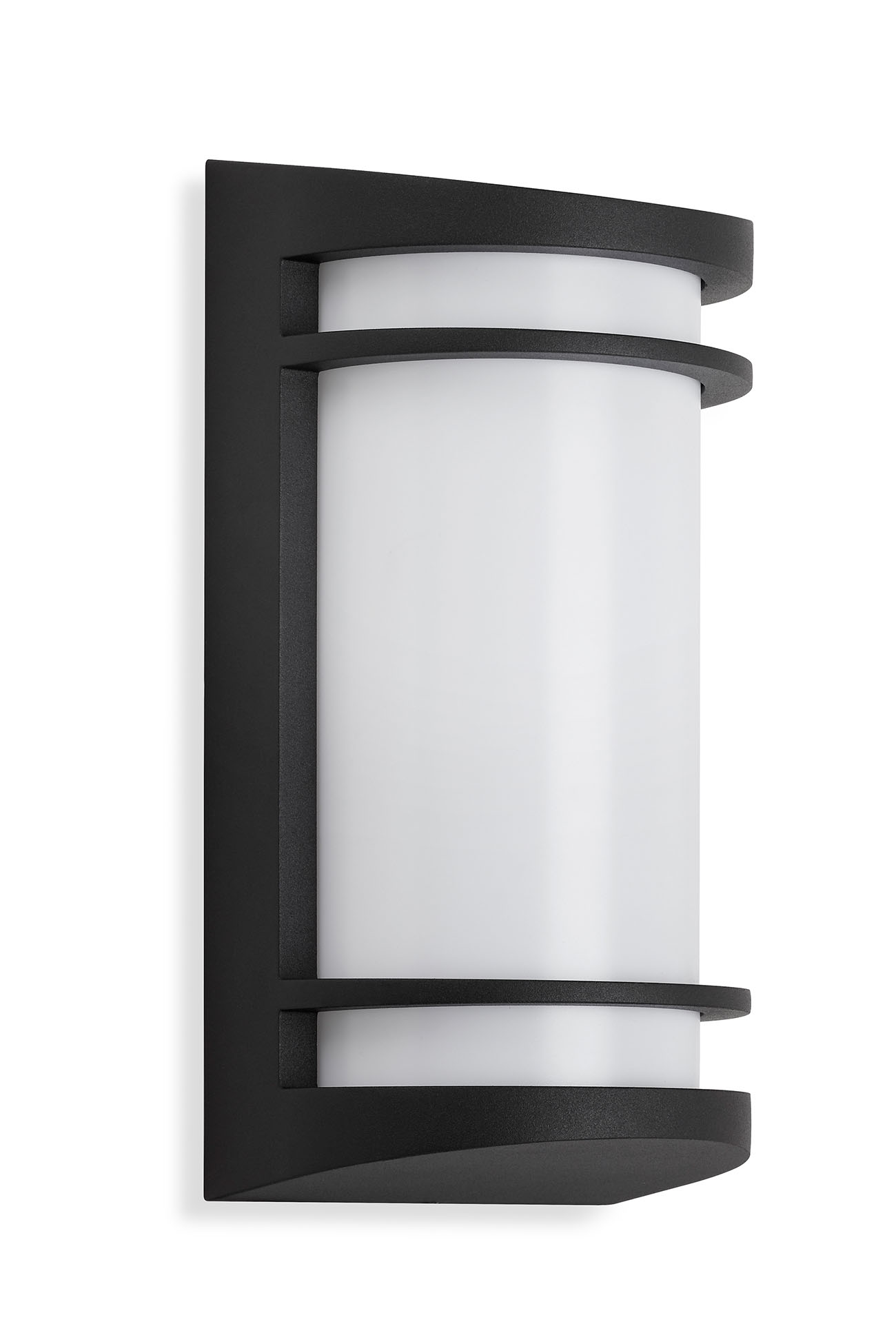 TELEFUNKEN LED Aussenwandleuchte, 14 cm, 10 W, Schwarz