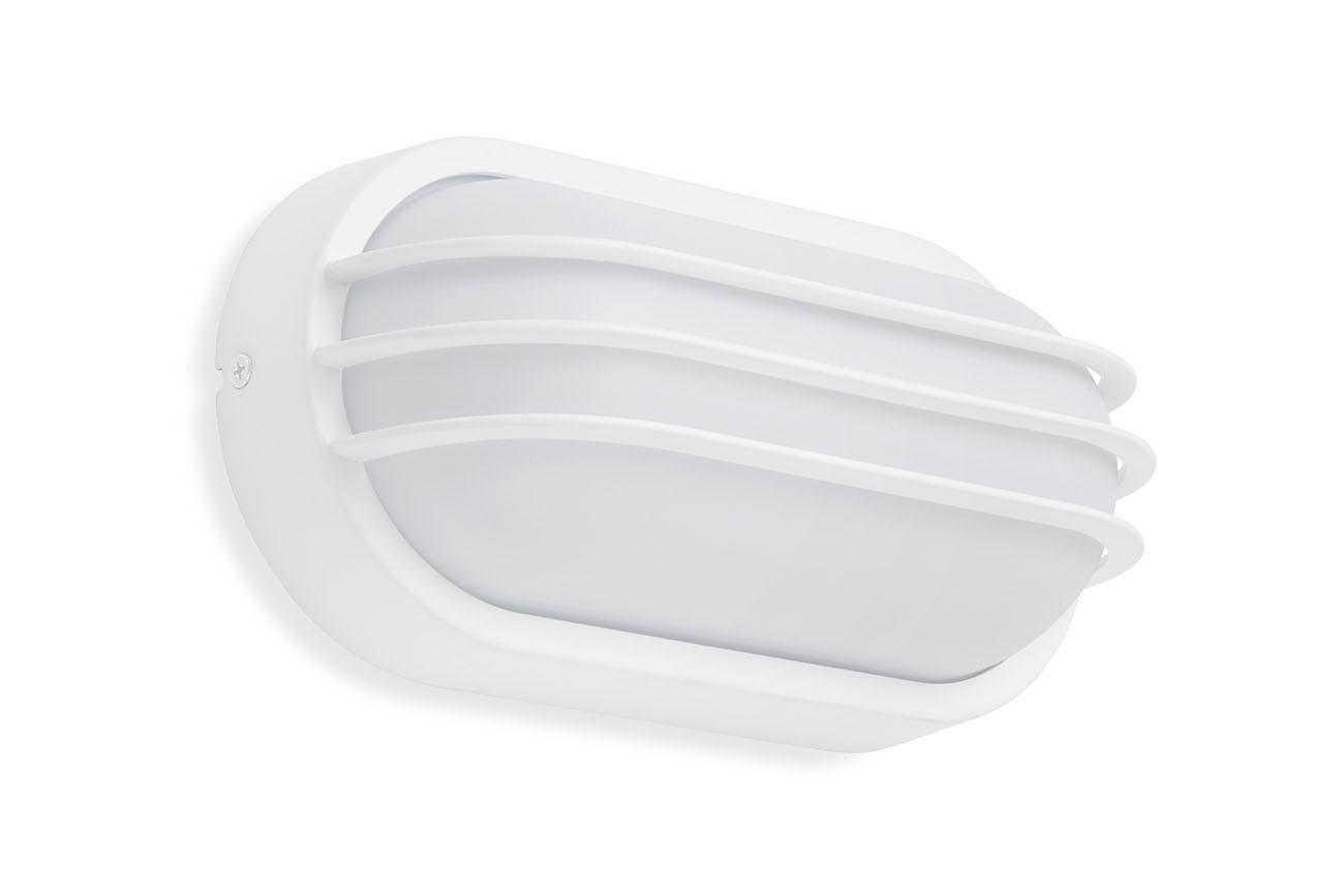 TELEFUNKEN LED Aussenwandleuchte, 24 cm, 12 W, Weiss