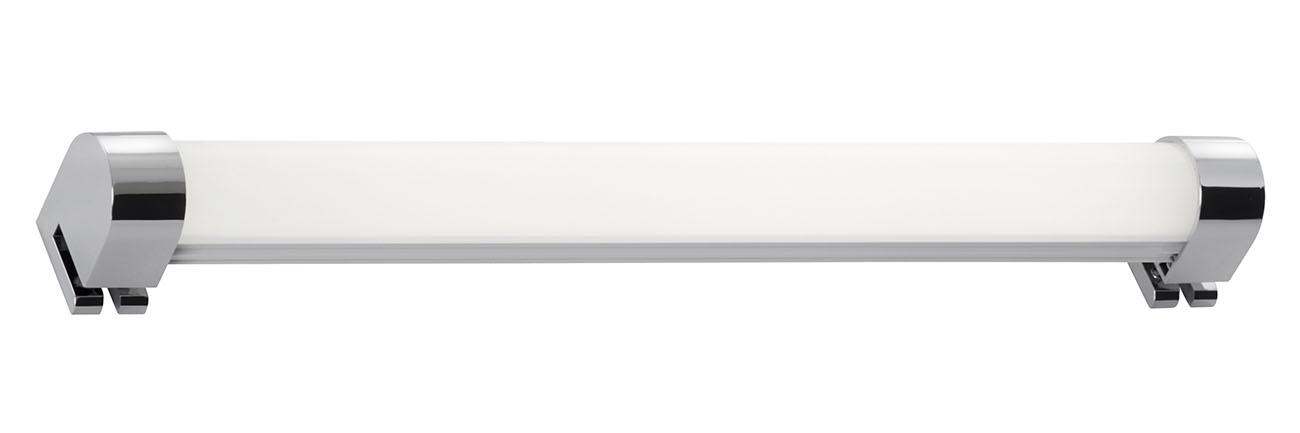 LED Spiegelleuchte, 33,2 cm, 8 W, Chrom