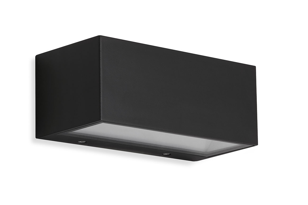 TELEFUNKEN LED Aussenwandleuchte, 18,5 cm, 6 W, Schwarz