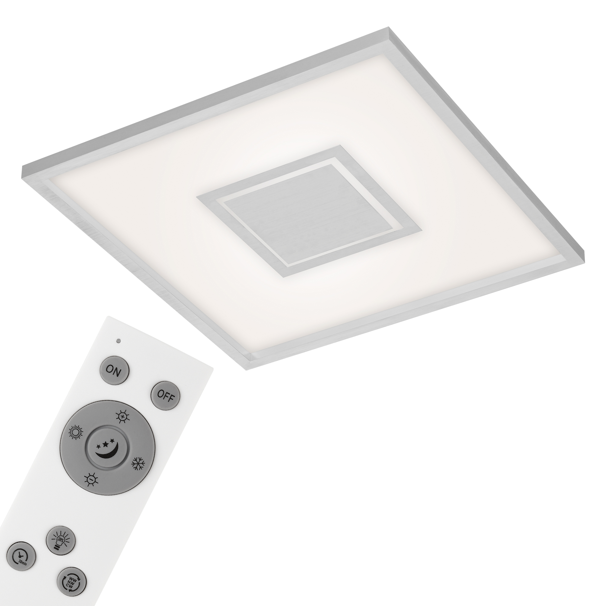 CCT LED Panel, 59,5 cm, 3800 LUMEN, 36 WATT, Alu