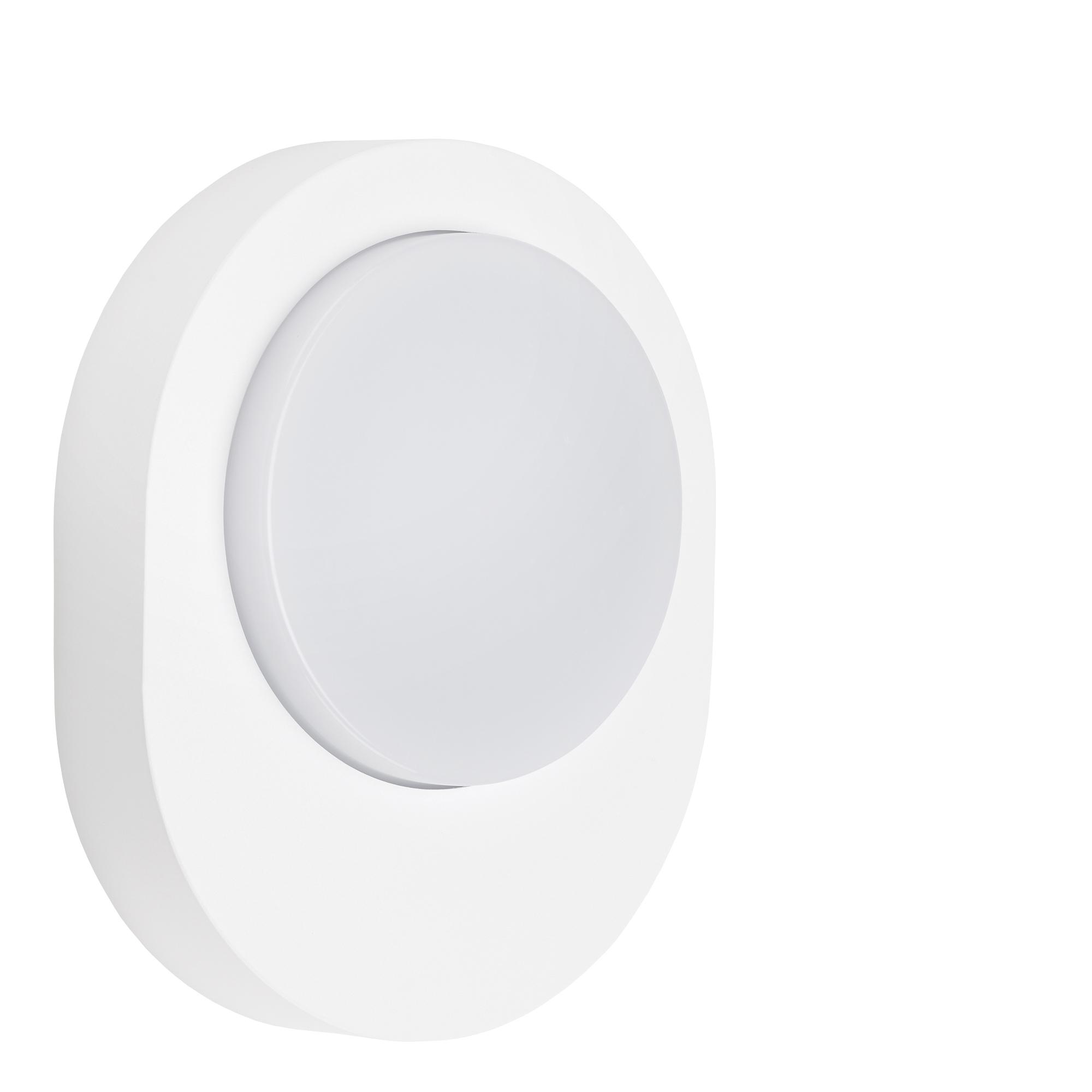 TELEFUNKEN LED Außenwandleuchte, 20 cm, 8 W, Weiß