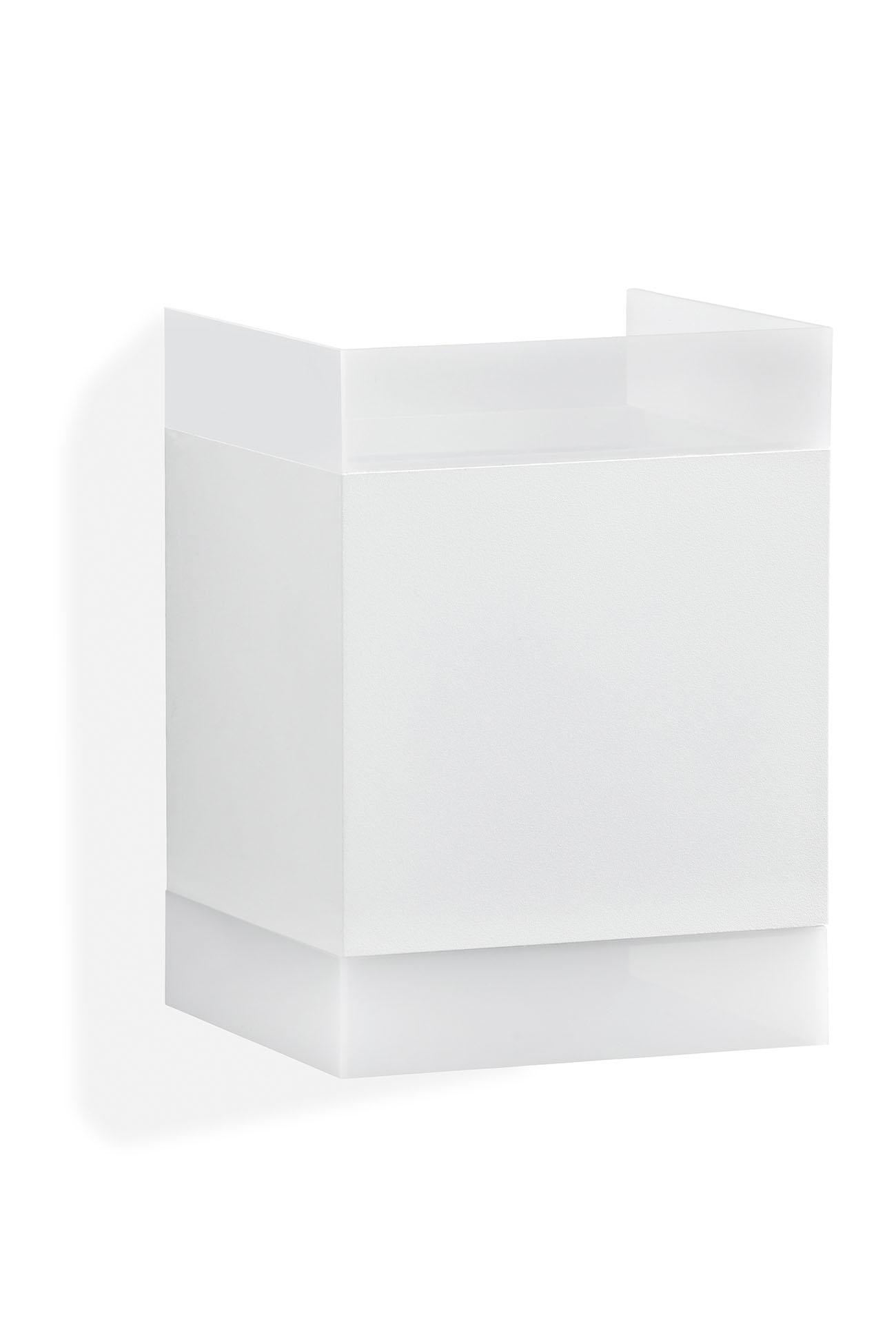 TELEFUNKEN LED Außenwandleuchte, 11 cm, 7 W, Weiß