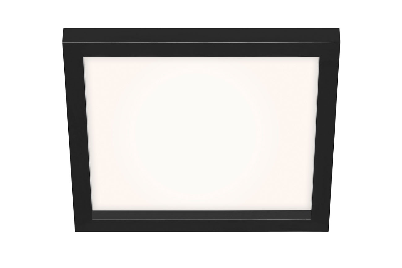 CCT LED Panel, 29,5 cm, 1800 LUMEN, 18 WATT, Schwarz