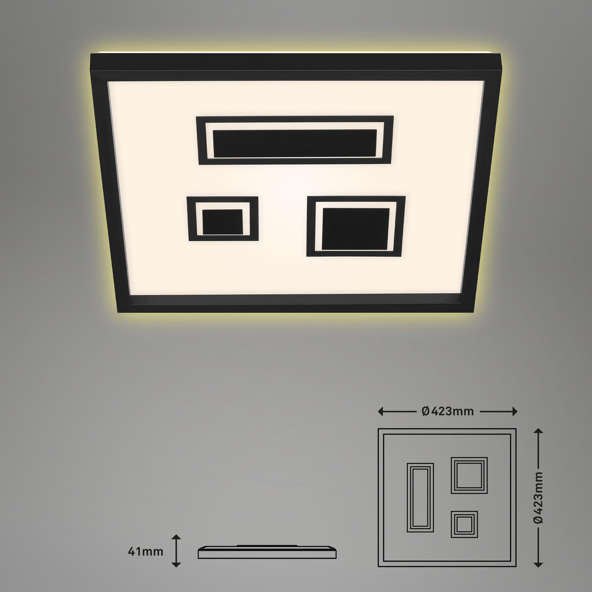 LED Panel Schwarz