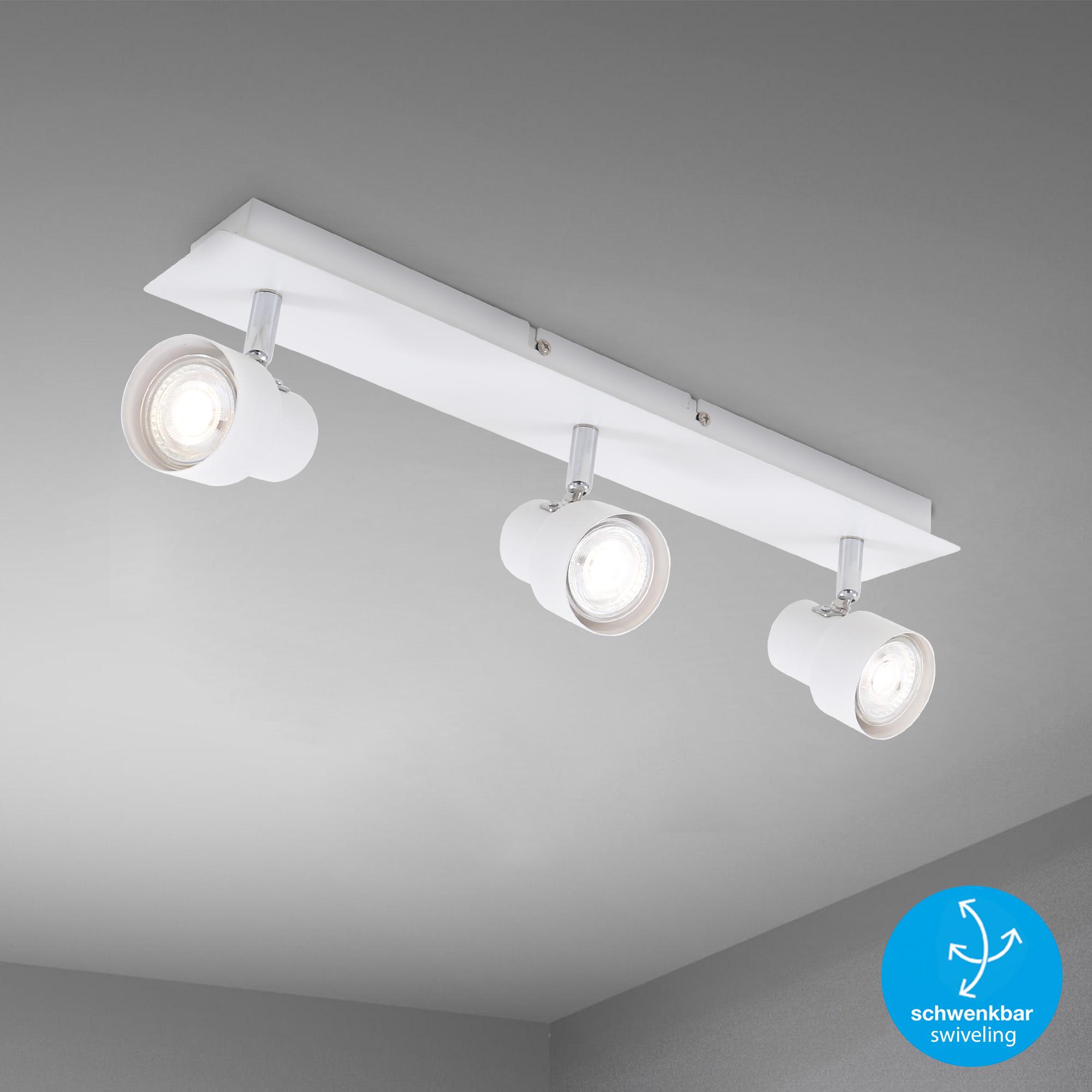 LED Spot Deckenleuchte Weiß