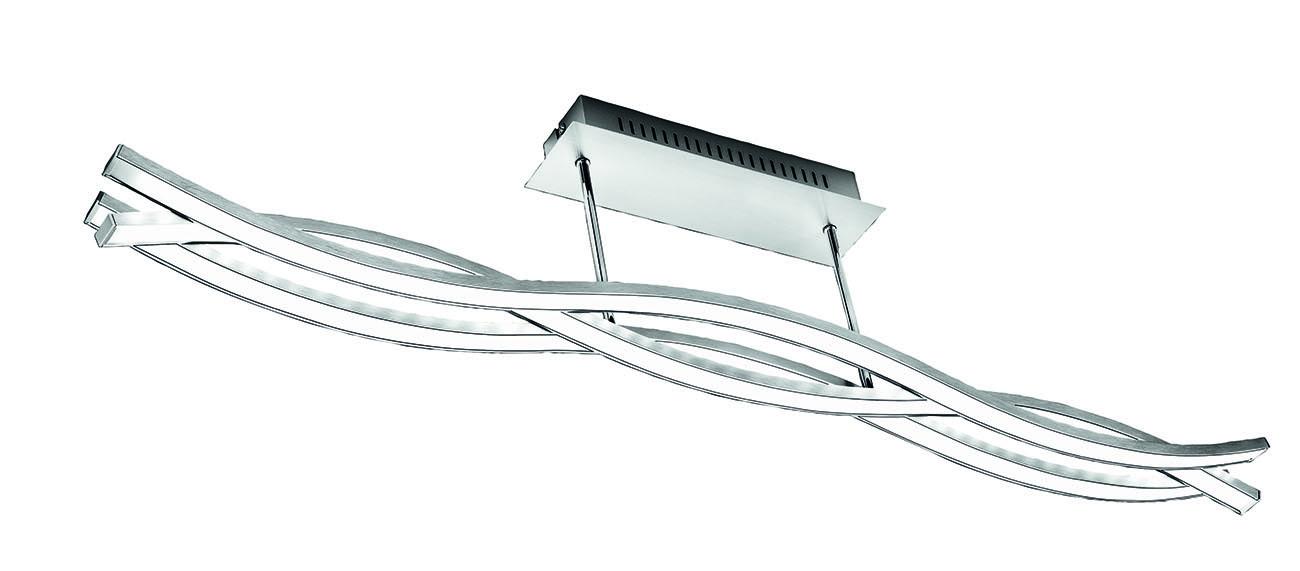 LED Deckenleuchte, 100 cm, 18 W, Alu