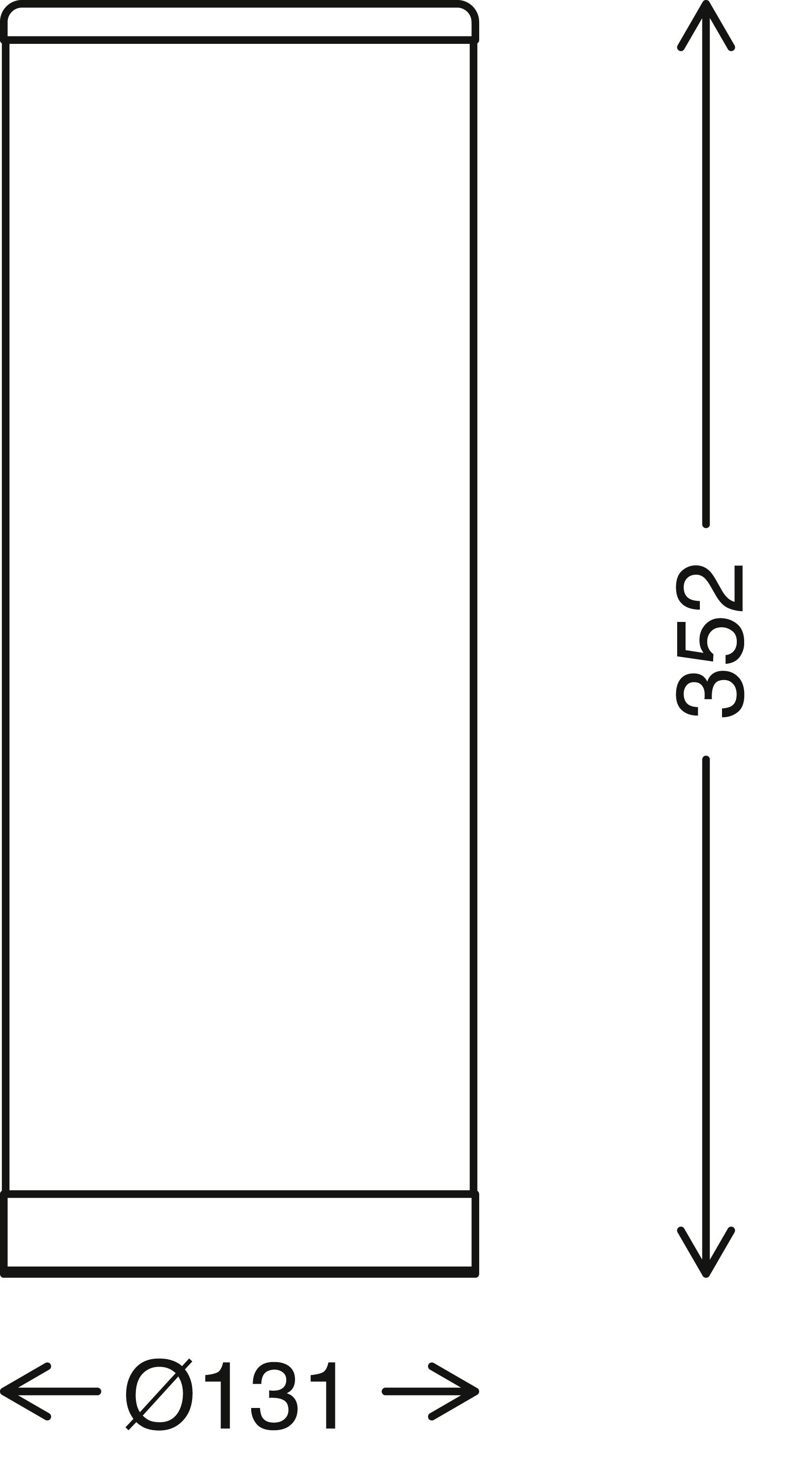 STERNENHIMMEL LED Tischleuchte, 35 cm, 5 W, Weiss-Chrom