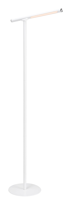 USB LED Wand- und Stehleuchte, 130,5 cm, 2,3 W, Weiss