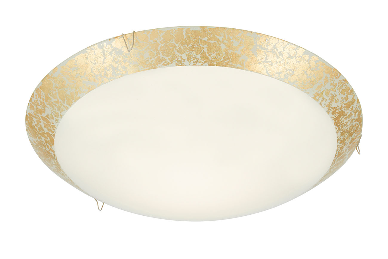 LED Deckenleuchte, Ø 30 cm, 8,4 W, Gold
