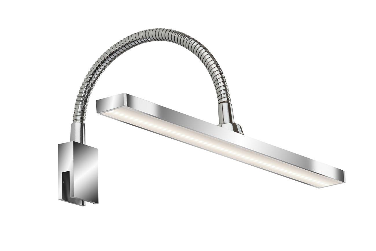 LED Spiegelleuchte, 30 cm, 4 W, Chrom